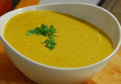 Moong-Dal-Kiwi-Coconut-Soup-Turban-Tadka-FoodFood