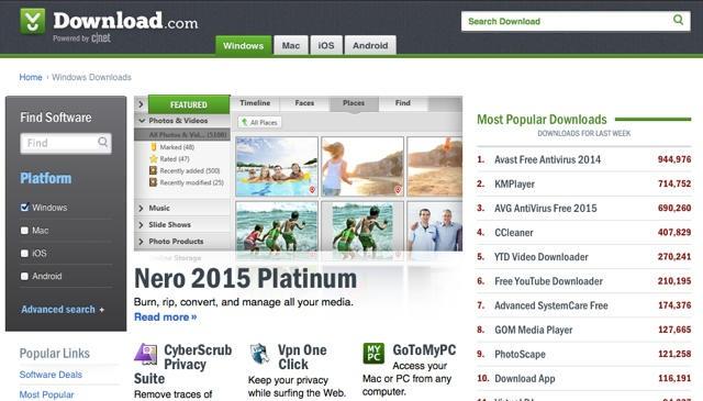 Download.com-Software-reviews