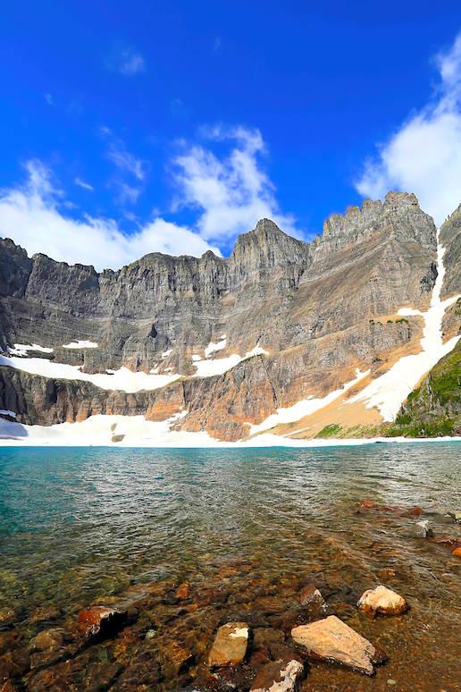 Iceberg Lake Glacier National Park, us