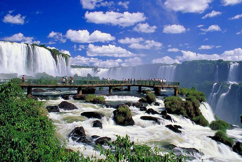 Iguazu Falls, Argentina in Brazil
