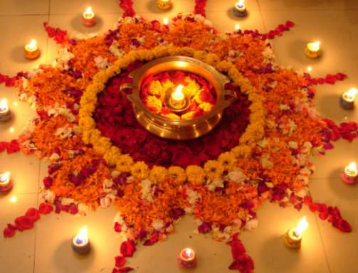strand_of_silk_-_stylish_thoughts_-_how_to_create_diwali_floor_decoration_-_flower_rangoli_with_lamps_