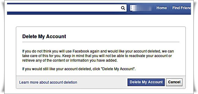 Delete-Facebook-Account-pop-up-