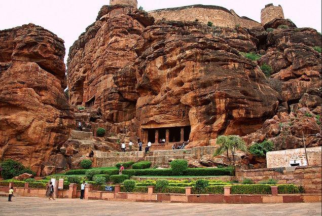 Badami-Cave-Temple
