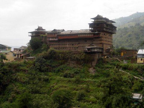 Kotkhai-fort