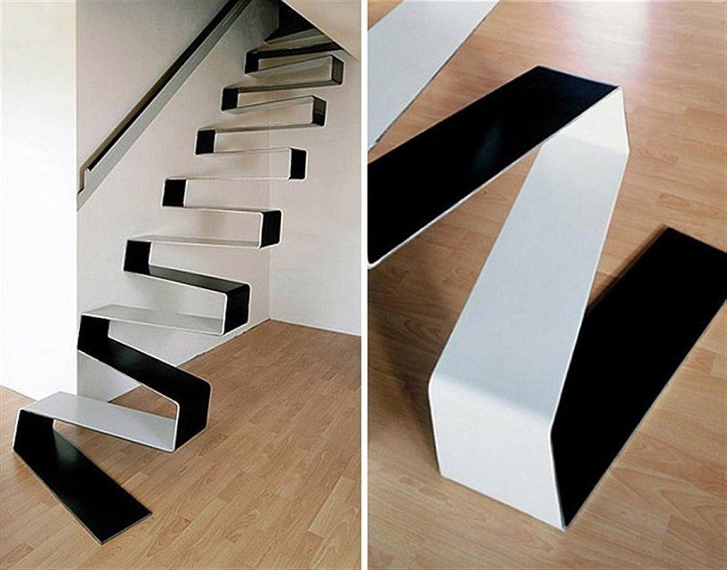 Rippling-ribbon-staircase-for-the-uber-minimal-home