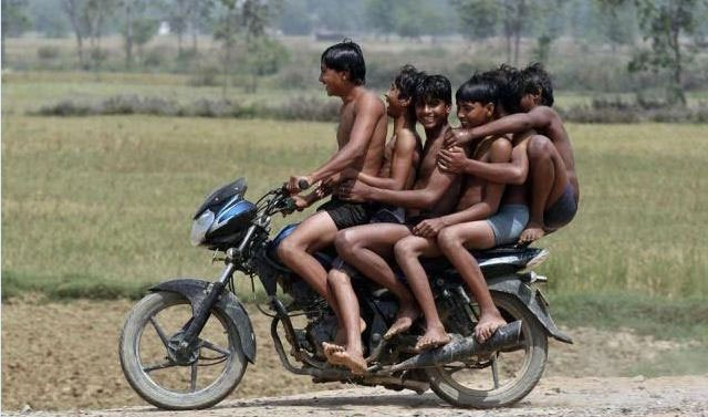 Villages-view-of-Bikes-Funny