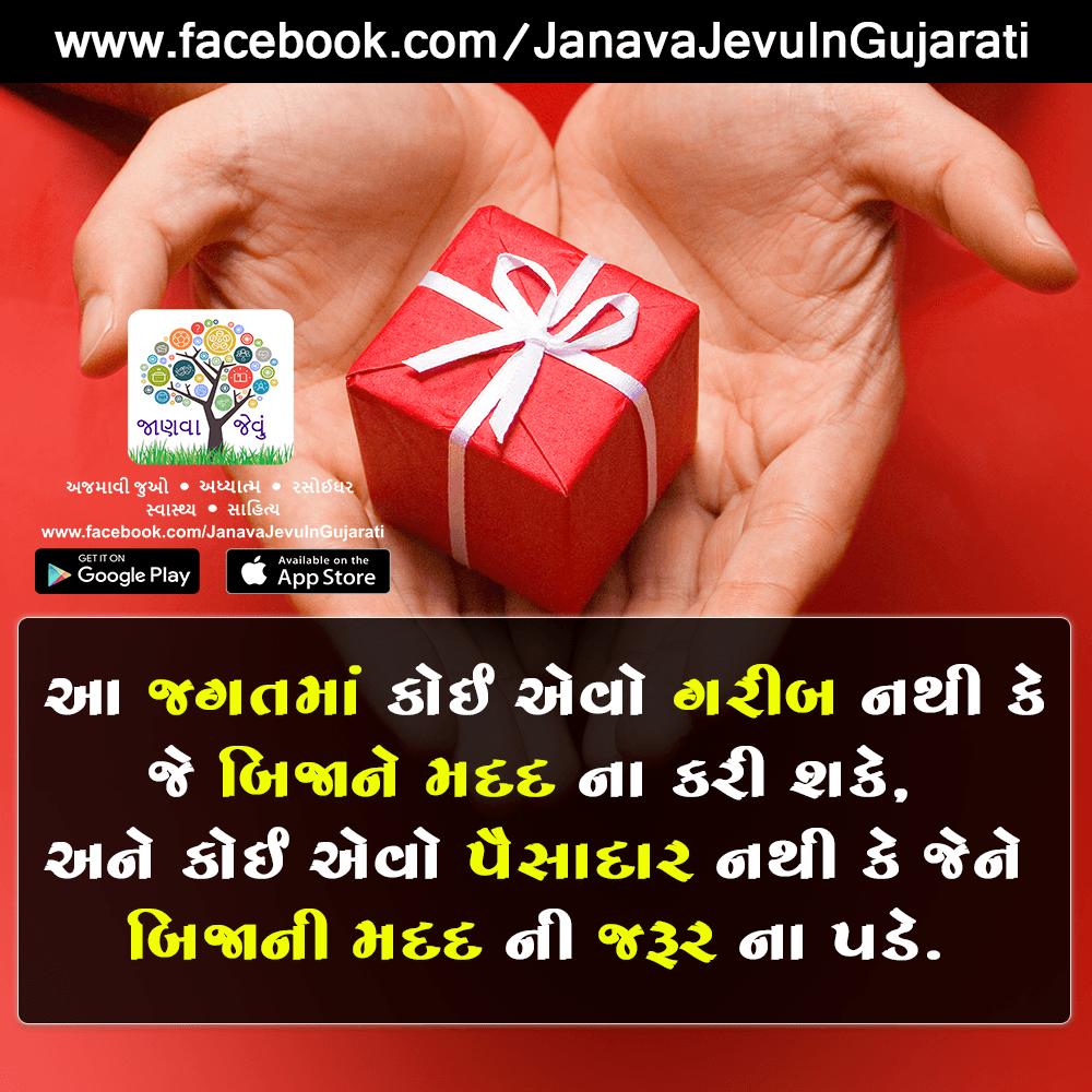 Inspirational Gujarati Quotes Images displayed in Gujarati Fonts